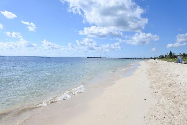 プエルトモエロスの海岸