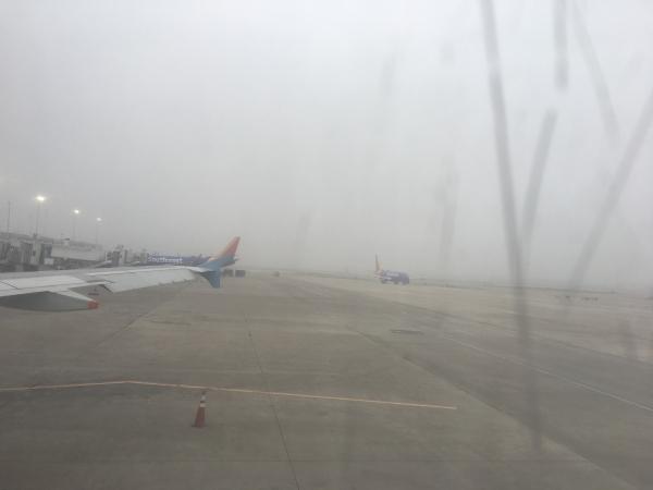 霧のサンアントニオ