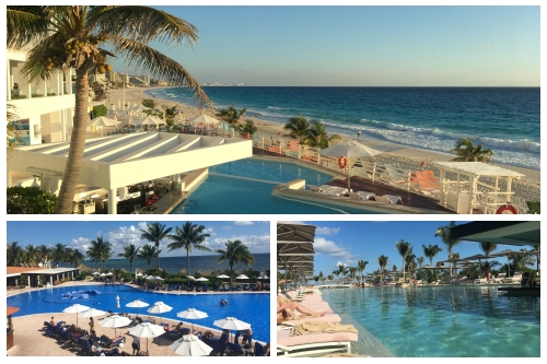 Three All-inclusive hotels comparisons in Cancun and around there.