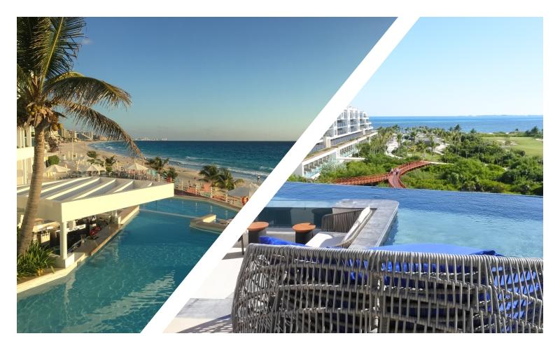 カンクン(Cancun)に移動、オールインクルーシブ「Oleo」と「Atlier」【カンクン旅行記③】