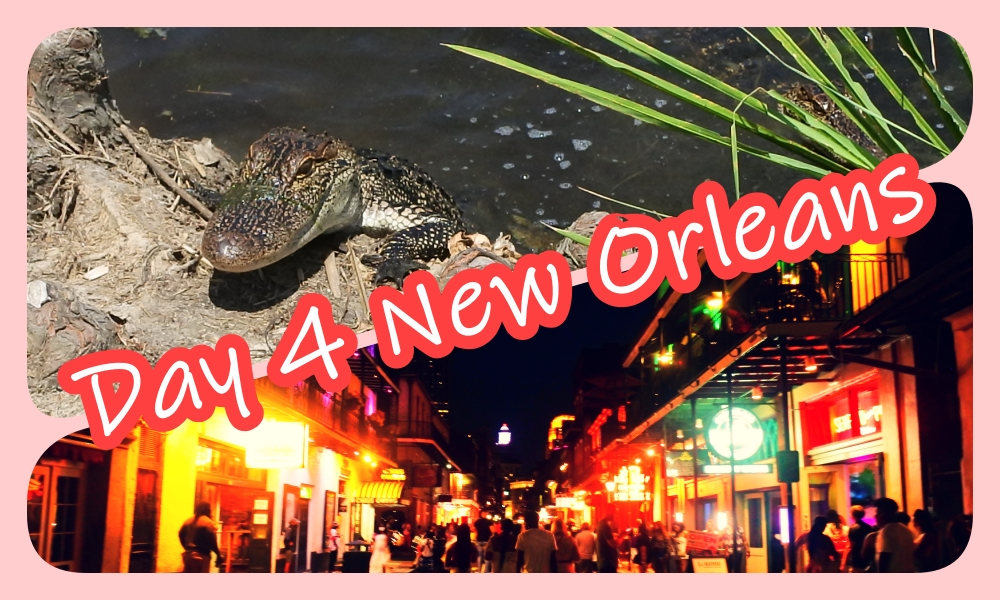 Texas and Louisiana Road Trip during Covid-19 ep.4 : Lake Pontchartrain and night walk in the French Quarter