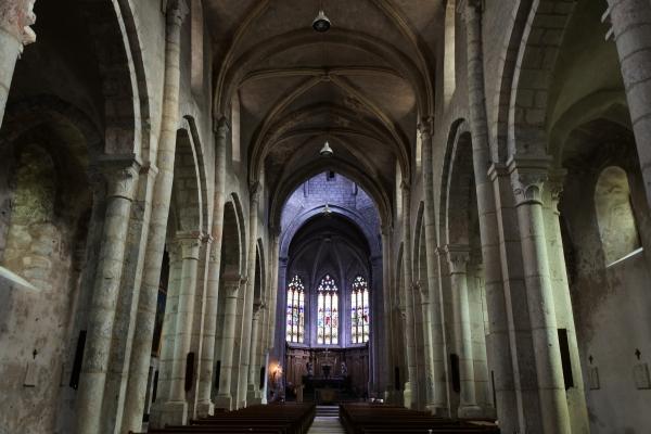 ナンチュア教会堂内部