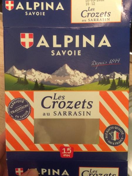 ALPINAのパスタ