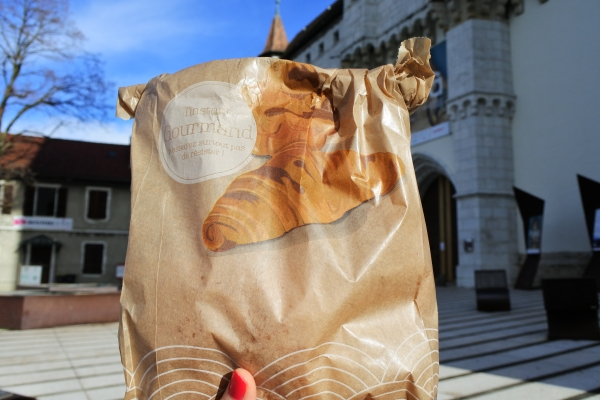 お城のパンの袋